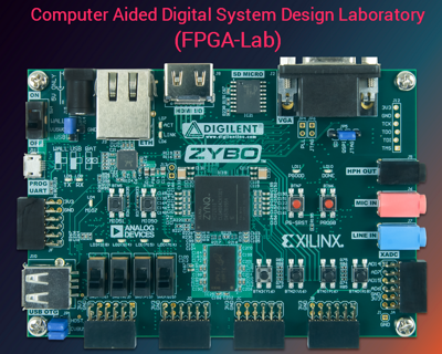 Course Image FPGA-Lab (Computer Aided Design Laboratory)